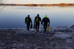 Avsaltning Nälsjön 2017-11-11